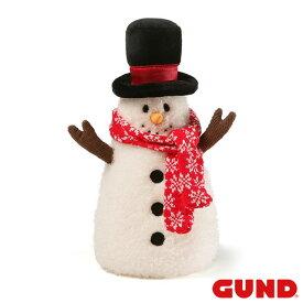 """フロストスノーマン Frost Snowman 12.5"""" 【GUND ガンド】クリスマス Christmas Xmas ぬいぐるみ 雪だるま 手触りふわふわ 人形 プレゼント ギフト インテリア 装飾 飾り GUND社認定 日本正規総代理店 #4059080"""