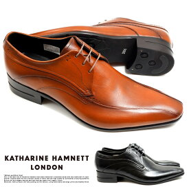 キャサリンハムネット ビジネスシューズ 靴 革靴 紳士靴 メンズ 本革 スワールモカ 穴飾り 31641