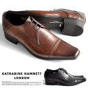 【サイズ交換1回無料】キャサリンハムネット 靴 ビジネスシューズ ビジネス靴 革靴 紳士靴 仕事靴 メンズ 本革 ブラン…