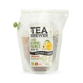 【GOOD MORNING QUINCE(グッドモーニングクインス)】【あす楽】 【ブリュワーカンパニー】 【フレーバーティー】 【オーガニック】 【無添加】 【無農薬】 【有機】 【天然】 【ナチュラル】 【自然】 【BREW COMPANY】 【紅茶】 【プチギフト】