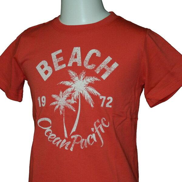 OCEAN PACIFIC(オーシャンパシフィック)_キッズ_半袖Tシャツ【ピンク(SPK)】_584823