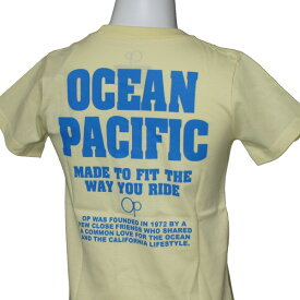 OCEAN PACIFIC(オーシャンパシフィック)_キッズ_半袖Tシャツ【イエロー(LYL)】_562852