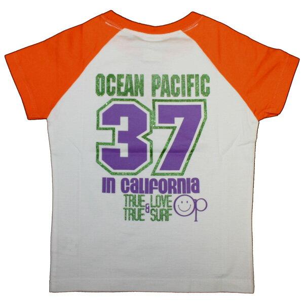 OCEAN PACIFIC(オーシャンパシフィック)_キッズ_半袖Tシャツ【オレンジ(OG)】_569258