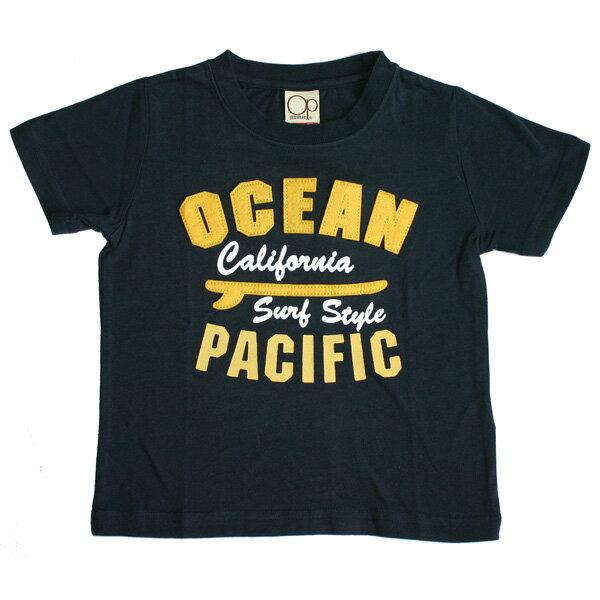 OCEAN PACIFIC(オーシャンパシフィック)_キッズ_半袖Tシャツ【ネイビー(NV)】_560515