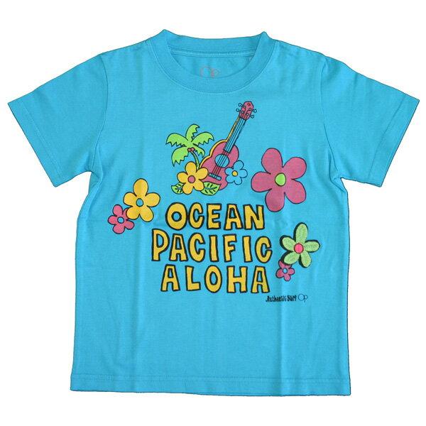 OCEAN PACIFIC(オーシャンパシフィック)_キッズ_半袖Tシャツ【ターコイズ(TQ)】_561502