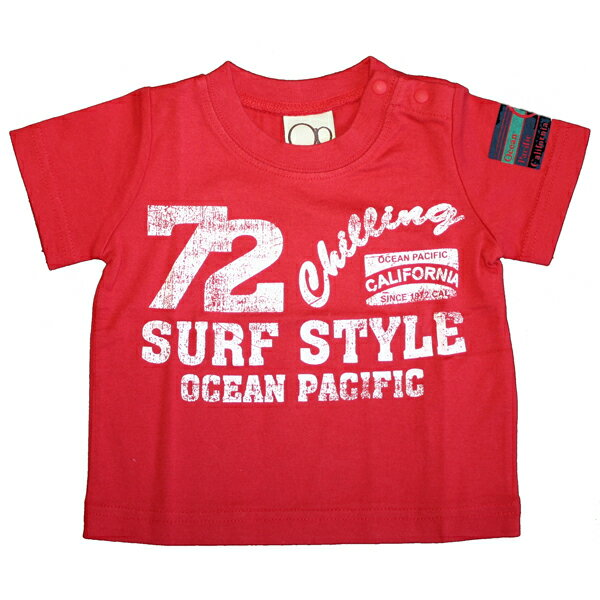 OCEAN PACIFIC(オーシャンパシフィック)_キッズ_半袖Tシャツ【レッド(RD)】_569610