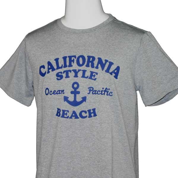 OCEAN PACIFIC(オーシャンパシフィック)_子供用_キッズ_UV半袖Tシャツ【ミックスグレー(MGY)】_563474