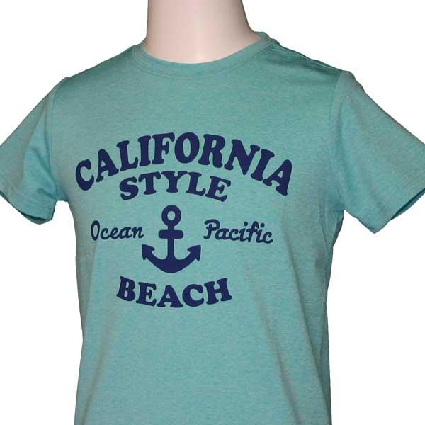 OCEAN PACIFIC(オーシャンパシフィック)_子供用_キッズ_UV半袖Tシャツ【ミント(MNT)】_563474