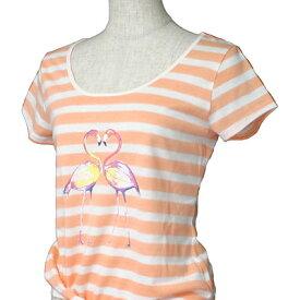 O'neill(オニール)_レディース_半袖Tシャツ【オレンジ(OGS)】_664505