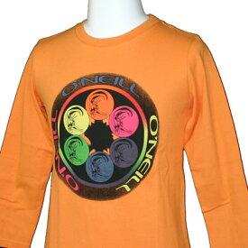 O'neill(オニール)_キッズ_七分袖Tシャツ【オレンジ(ORG)】_633-602