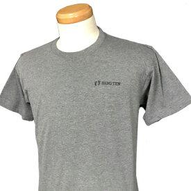 HANG TEN(ハンテン)_メンズ_クルーネック半袖Tシャツ【チャコール(CHARCOAL)】_HT-TS-006