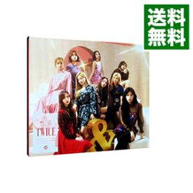 【中古】&TWICE 初回限定盤A [トレーディングカード付属なし] 【CD+DVD スリーブケース付】/ TWICE