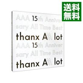 【中古】【5CD・フォトブック・ブックレット付】AAA 15th Anniversary All Time Best−thanx AAA lot−初回生産限定盤 [スマプラコード付属なし] / AAA