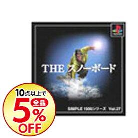 【中古】PS THE スノーボード SIMPLE1500シリーズ Vol.27