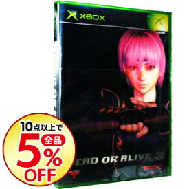 【中古】Xbox DEAD OR ALIVE3