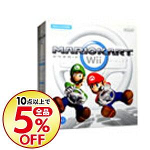 【中古】Wii 【Wiiハンドル・Wiiハンドル説明書同梱】マリオカートWii