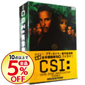【中古】【全品5倍】CSI:科学捜査班 SEASON6 コンプリートDVD−BOX1 / 洋画