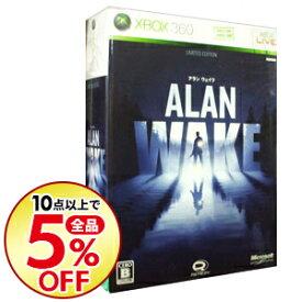 【中古】Xbox360 【ボーナスディスク・CD・冊子・外装紙パッケージ(バーコード記載)同梱】Alan Wake リミテッドエディション