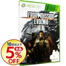 【中古】Xbox360 フロントミッション エボルヴ [DLカード使用・付属保証なし]
