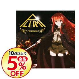 【中古】ALTIMA/ 【CD+DVD】I'll believe 初回限定盤