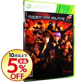 【中古】Xbox360 DEAD OR ALIVE 5