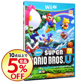 【中古】Wii U New スーパーマリオブラザーズ・U