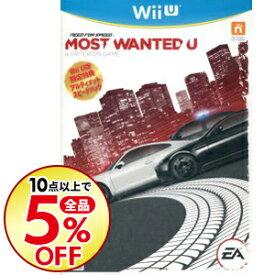【中古】Wii U ニード・フォー・スピード モスト・ウォンテッド