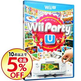 【中古】Wii U 【水平スタンド付】Wii Party U
