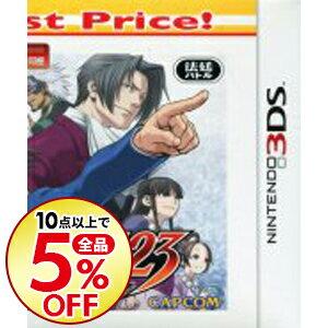 【中古】N3DS 【CD付】逆転裁判123 成歩堂セレクション Best Price!