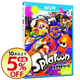 【中古】【全品5倍!5/25限定】Wii U Splatoon