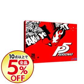【中古】PS3 【帯(JAN記載)・CD5枚・豪華BOX・アートブック付】ペルソナ5 20thアニバーサリー・エディション