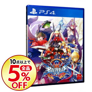 【中古】PS4 BLAZBLUE CENTRALFICTION