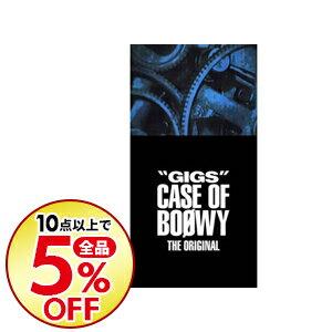 """【中古】【4CD ライナーノーツ・スペシャルボックス・Tシャツ・ステッカー付】""""GIGS"""" CASE OF BOφWY−THE ORIGINAL− 完全限定盤 / BOφWY"""