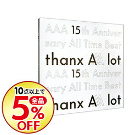 【中古】【全品10倍!1/25限定】AAA/ AAA 15th Anniversary All Time Best−thanx AAA lot−初回生産限定盤 [スマプラコード付属なし]【5CD・フォトブック・ブックレット付】