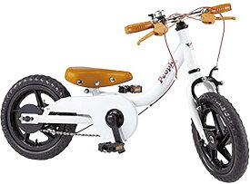 People(ピープル) ケッターサイクル 12インチ YGA311 ブルーミングホワイト 子供用自転車
