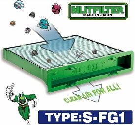 MLITFILTER/エムリット フィルター/スバル専用(インプレッサ/フォレスター/レヴォーグ/XV/S4/WRX)Type:S-FG1エアコンフィルター 日本製