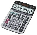 カシオ JF-120VB-N 卓上タイプ 12桁 電卓【ジャストサイズ】CASIO 本格実務電卓