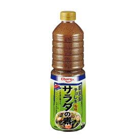 エバラ 韓国風サラダの素 チョレギ 1L 6本セット送料無料 【業務用食品】