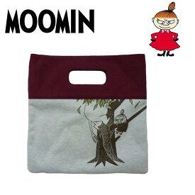 ムーミン トートバッグ クラッチバッグ MM-8111 (キノボリ) スウェットクラッチトートバッグ かわいい キャラクター グッズ