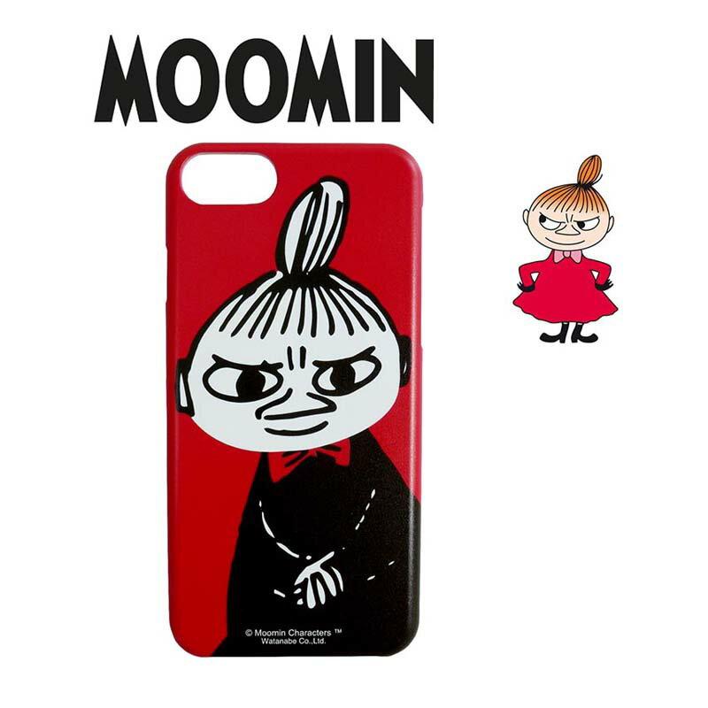 ムーミン iphoneケース スマホカバ iPhone8 iPhone7 iPhone6 iPhone6s リトルミイ レッド かわいい おしゃれ キャラクター グッズ