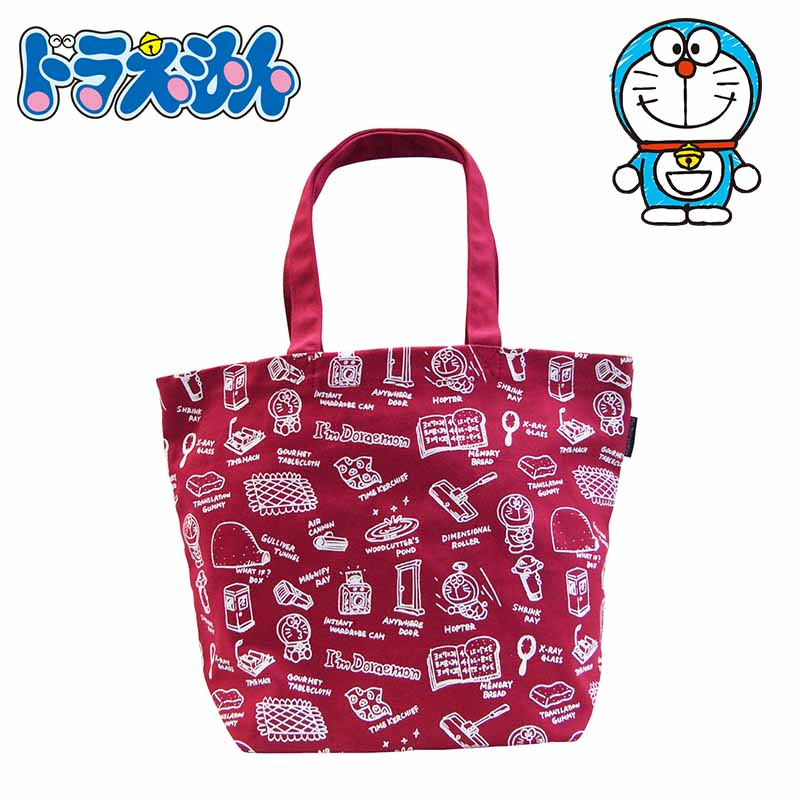 ドラえもん ヴィンテージシリーズ トートバッグ ソウガラ 手提げトート トート バッグ 雑貨 かわいい I'm Doraemon キャラクター グッズ