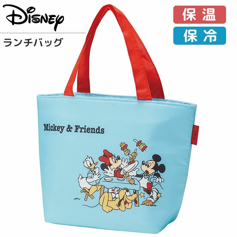 ミッキーマウス ランチバッグ 保冷バッグ 2段 保冷 ランチトート ミッキー ディズニー Disney Mickey&Friends お弁当グッズ かわいい おしゃれ おすすめ キャラクター グッズ