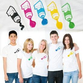paint(ペイント)絵の具が飛び出すTシャツ