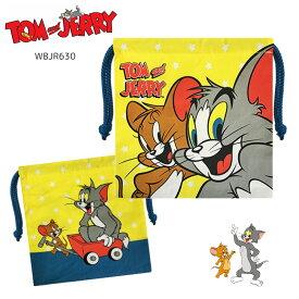 トムとジェリー 巾着 巾着袋 小 ミニ巾着 コップ袋 小物入れ 猫 人気 かわいい キャラクターグッズ