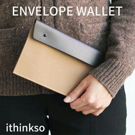 ENVELOPE WALLET マルチポーチ パスポートケース 通帳ケース おしゃれ 本革 旅行用品 レディース