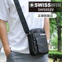 送料無料 SWISSWIN スイスウィン ショルダーバッグ メンズ 斜めがけ 軽量 ショルダー ビジネスバッグ 出張 メンズバッ…