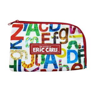 エリック・カールマスクポーチアルファベットEC-7751化粧ポーチコスメポーチ小物入れポーチおしゃれかわいいキャラクターグッズ