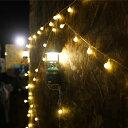 DACH ガーランド 照明 LED 9m 80球 防塵 防水 USB接続 間接照明 アウトドア キャンプ デコレーション パーティ 誕生…