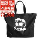 DUCK DUDE 福袋 ダックデュード 4点入り メンズファッション福袋 専用バッグ アウター スウェット トップス 小物 4点…