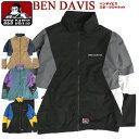 BEN DAVIS トラックジャケット ベンデイビス スポーツジャケット 配色デザイン メンズ 切り替え ジャンパー ゴリラタ…